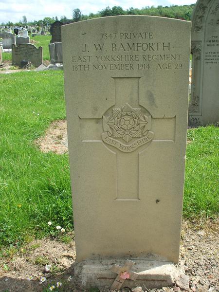 Profile picture for John William Bamforth