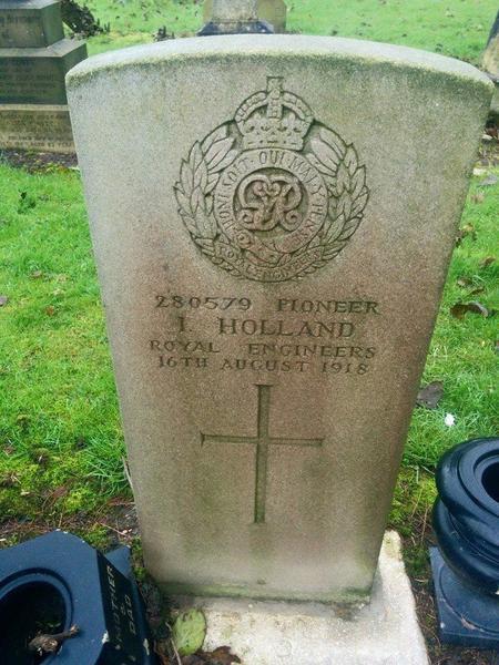 Headstone of Isaac
