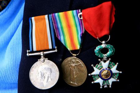 Henry's medals