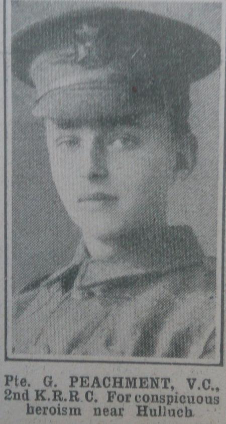 Profile picture for George Peachment