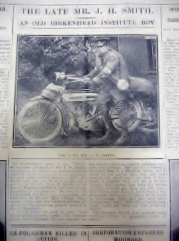 John H Smith on Motorbike