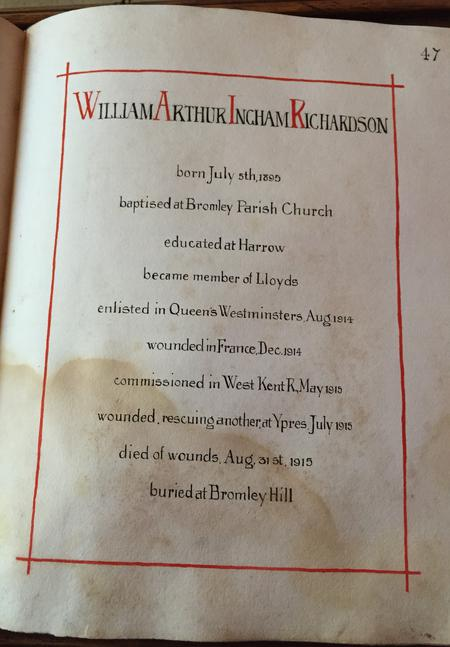 Profile picture for William Arthur Ingham Richardson