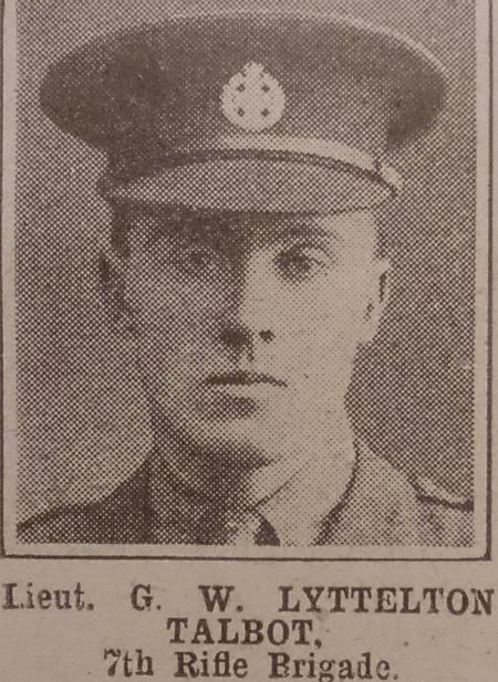Profile picture for Gilbert Walter Lyttelton Talbot