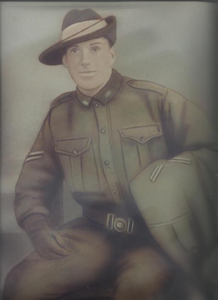 George Henry Holland returning WW1 from Australia