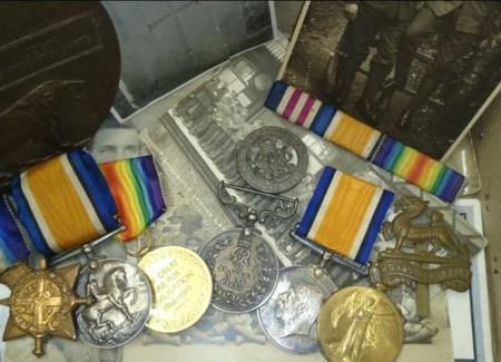 Walter's medals