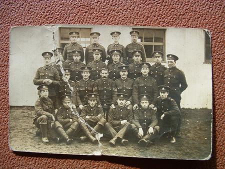 Men of 9th Battalion Notts & Derby Regiment