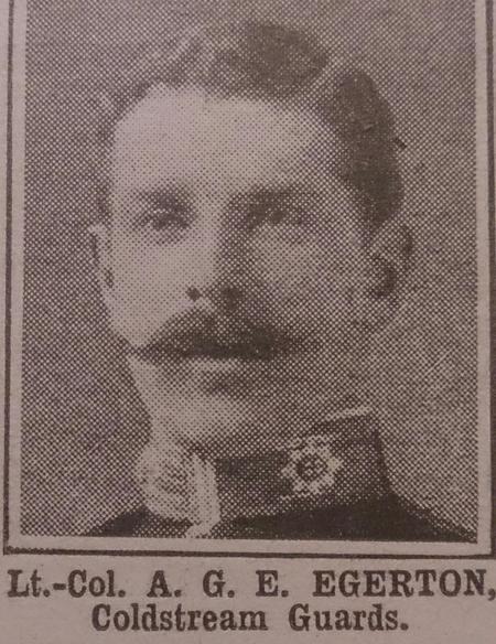 Profile picture for Arthur George Edward Egerton