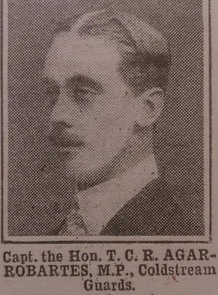 Profile picture for The Hon Thomas Charles Reginald Agar-Robartes