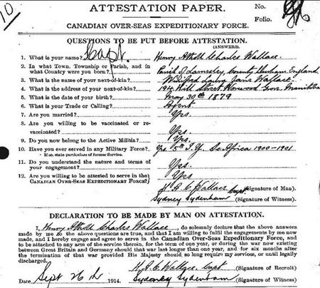 Canadian Attestation Paper Page 1