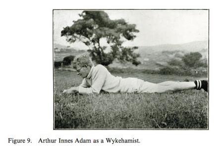 Arthur Adam at Winchester College
