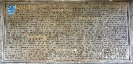 War memorial Emmanuel College