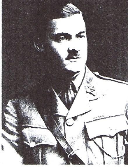 Basil Perrin Hicks in uniform