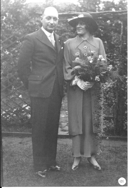 Marriage of Stanley Withers and Mary Vera Montrose