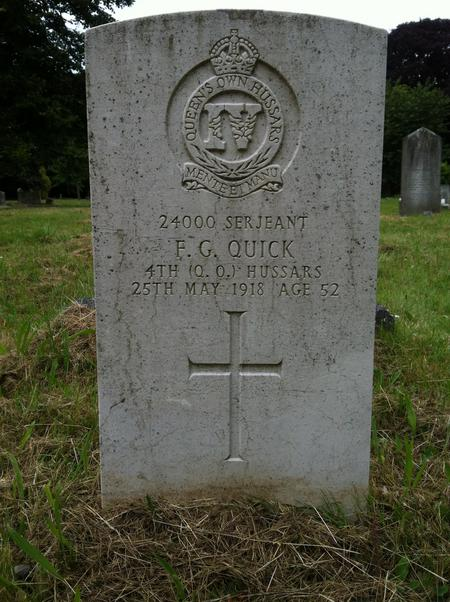 Profile picture for Frederick George Quick