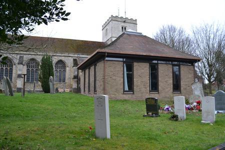 J. W. Nightingale, Headstone locn, Cherry Hinton