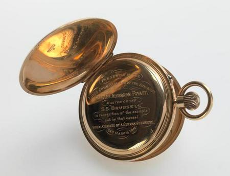 Inscription on Charles' second pocket watch