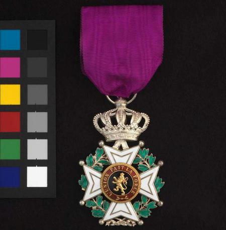 Chevalier of the Order of Leopold medal