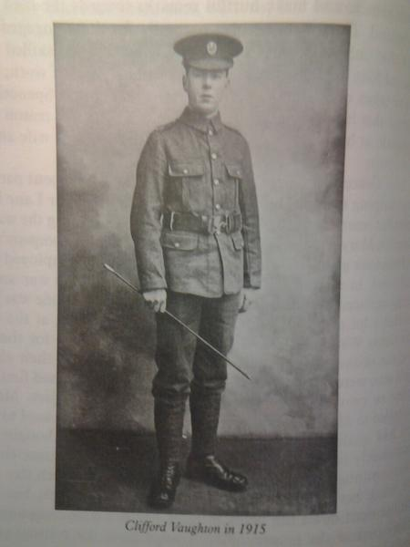Profile picture for Ernest Clifford Vaughton
