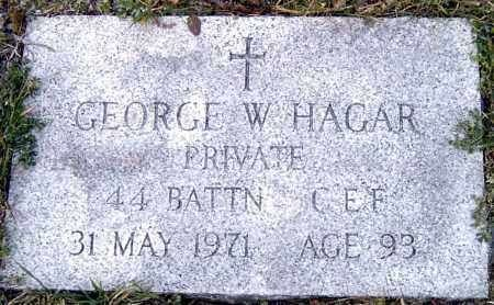 Profile picture for George Wilfred Hager