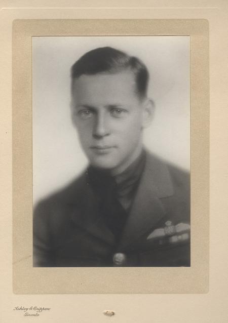 Frank Quigley in uniform