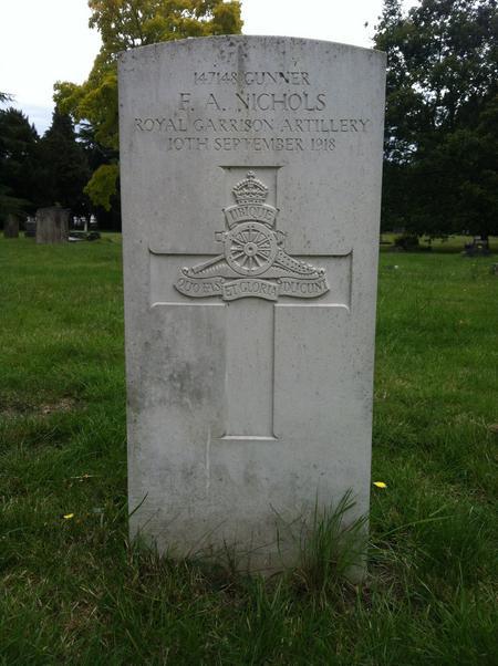 Profile picture for Frederick A Nichols