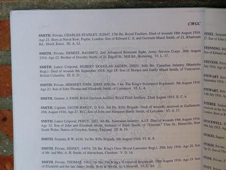 Abbeville Communal Cemetery Book