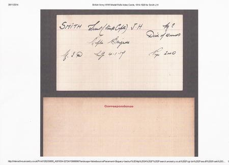 Jacob's War Medal Card (2)