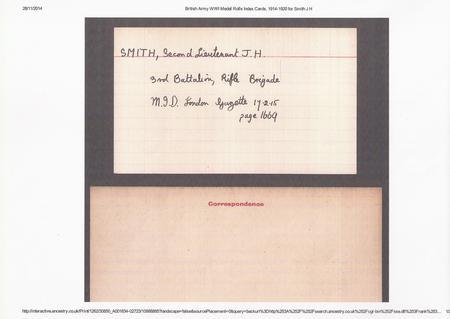 Jacob's War Medal Card (3)