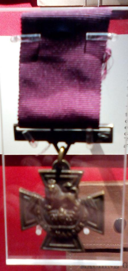 Victoria Cross awarded to Edwards