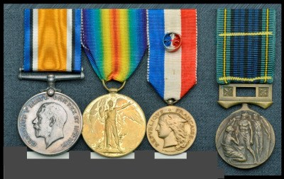 Medals of Agnes Forbs Savill