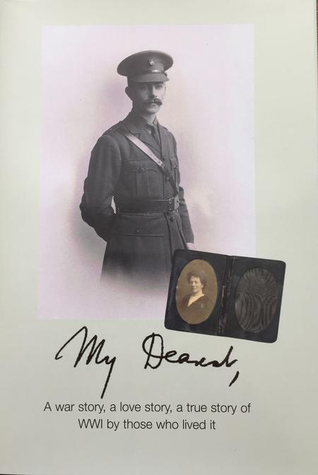 Front cover from the book 'My Dearest'