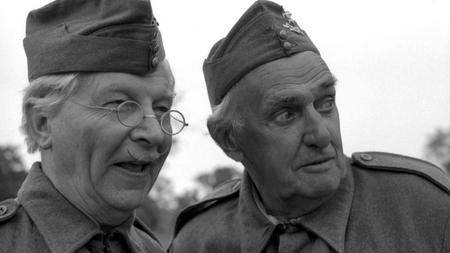 As Private Fraser in 'Dad's Army' (right)