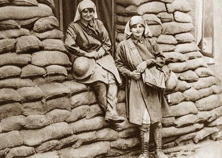 Elsie knocker and Mairi Chisholm