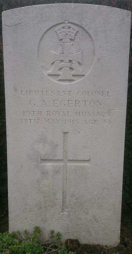 Profile picture for George Algernon Egerton