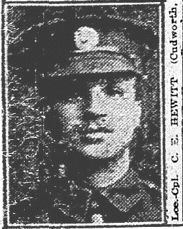 Profile picture for Cyril Ernest Hewitt