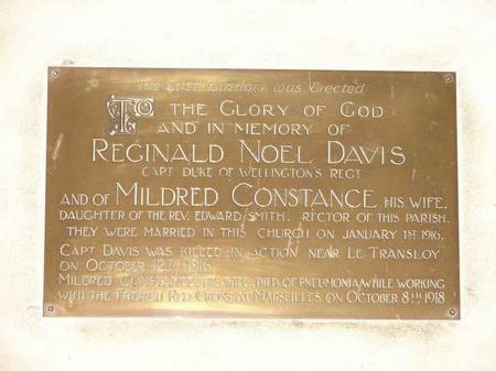 Profile picture for Mildred C Davis
