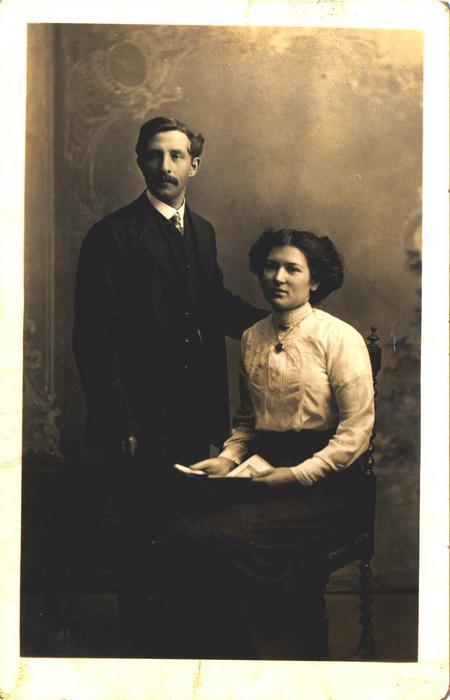 Ned and Mary Jane wedding 1913