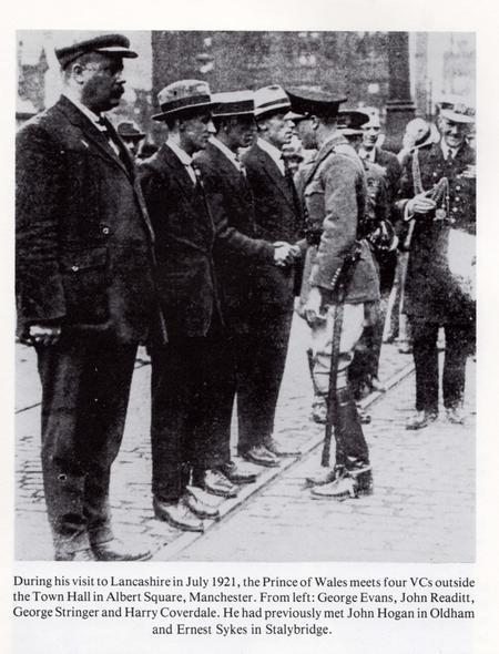 John Readitt meeting Prince of Wales July 1921