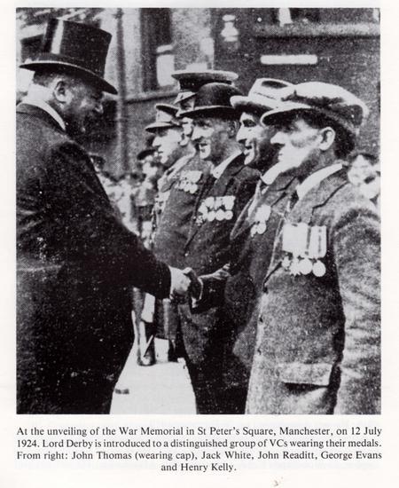 John Readitt meeting Lord Derby 12 July 1924