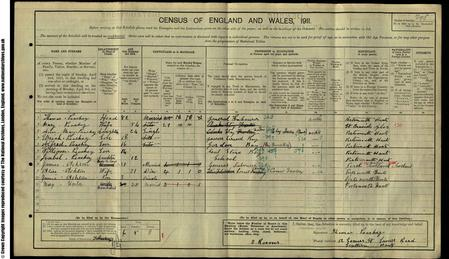 1911 Census of England, Hampshire