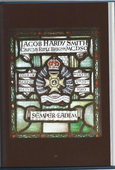 Memorial Window to Jacob Hardy Smith