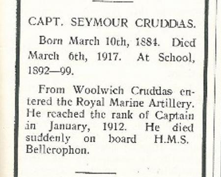 Profile picture for Seymour Cruddas