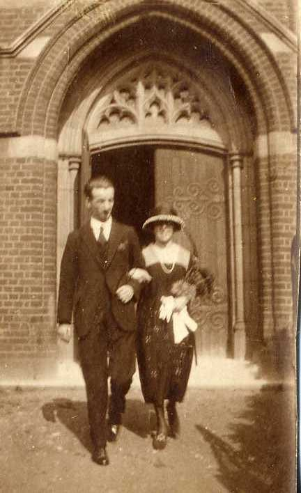 Wedding of Brian T Chaplin and Eileen Fishbourne