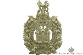 KOSB cap badge