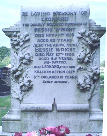Profile picture for Leonard Wright