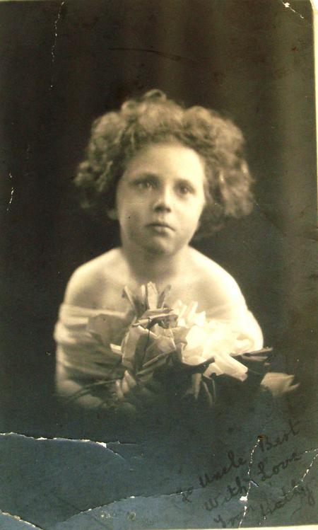 Kathleen Hayes, Private Patrick Barrett's daughter