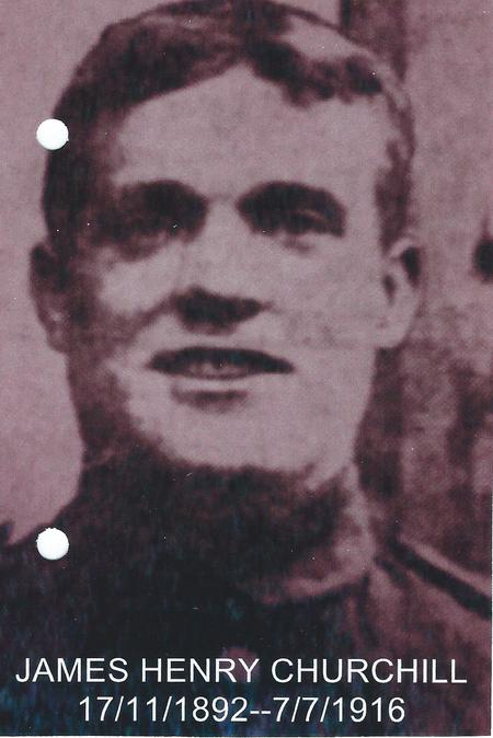 Profile picture for James Henry Churchill