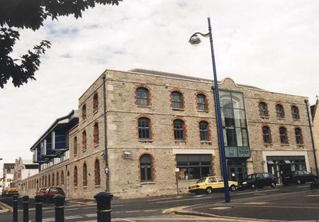 Old Warehouse on Octagon Street, Plymouth