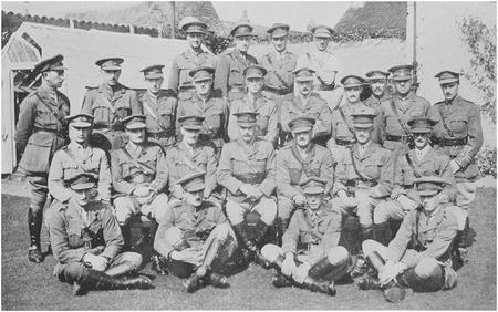 Officers of the Fife and Forfar Yeomanry