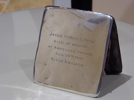 Jacobs Wallet, engraved after his death